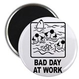 "Bad Day at Work 2.25"" Magnet (100 pack)"