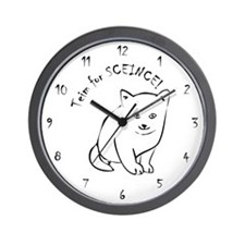 mofaha - Teim for SCEINCE Wall Clock