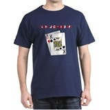 """I Love Jack-King Off"" T-Shirt"