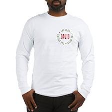 David Man Myth Legend Long Sleeve T-Shirt