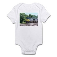 CSX Q190 Doublestack Train Infant Creeper