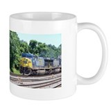 CSX Q190 Doublestack Train Mug