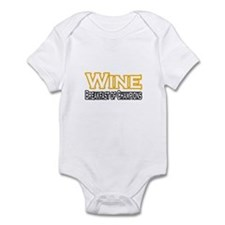 """Wine. Breakfast of Champions"" Infant Bodysuit"