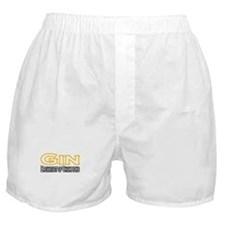"""""""Gin. Breakfast of Champions"""" Boxer Shorts"""