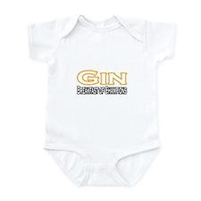 """Gin. Breakfast of Champions"" Infant Bodysuit"