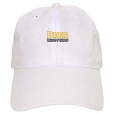 """Beer. Breakfast of..."" Baseball Cap"