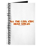 All The Cool Kids Hear Voices Journal