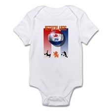 Netherlands Football Infant Bodysuit