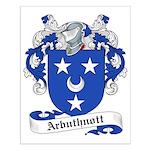 Arbuthnott Family Crest Small Poster