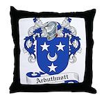 Arbuthnott Family Crest Throw Pillow