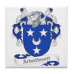 Arbuthnott Family Crest Tile Coaster