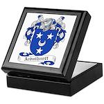 Arbuthnott Family Crest Keepsake Box