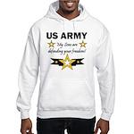 My Sons are defending Hooded Sweatshirt