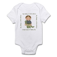 My Daddy is Dino-Mite (Brown hair boy) Infant Body