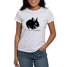 Beware Plot Bunny Tee
