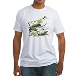 Chinese Dragons Fitted T-Shirt