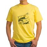 Chinese Dragons Yellow T-Shirt