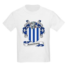 Armstrong Family Crest Kids T-Shirt