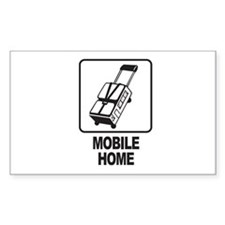Mobile Home Rectangle Decal