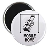 "Mobile Home 2.25"" Magnet (10 pack)"