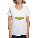 If Ignorance Is Bliss Women's V-Neck T-Shirt