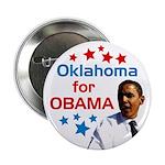 Oklahoma for Obama campaign button