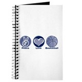 Peace Love Basketball Journal