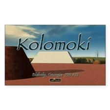 Kolomoki Mounds Rectangle Decal