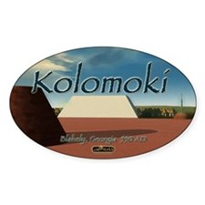 Kolomoki Mounds Oval Decal