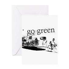 Goin Green Greeting Card