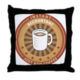 Instant Accountant Throw Pillow