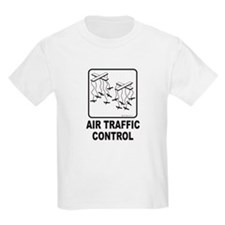 Air Traffic Control Kids T-Shirt