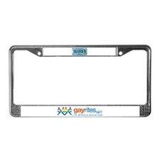 New Hampshire Marriage Equalit License Plate Frame