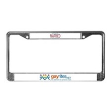 Massachusetts Marriage Equalit License Plate Frame