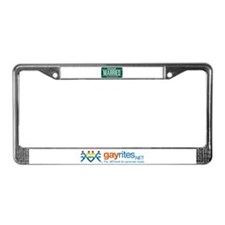 Vermont Marriage Equality License Plate Frame