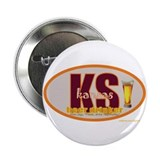 "Cool Kansas is for lovers 2.25"" Button (100 pack)"
