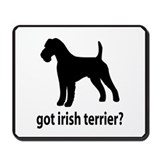 Got Irish Terrier? Mousepad