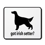 Got Irish Setter? Mousepad