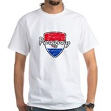 Paraguayan Distressed Flag Shirt