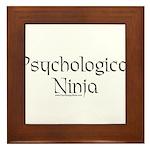 Psychological Ninja Framed Tile