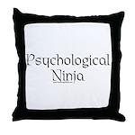 Psychological Ninja Throw Pillow