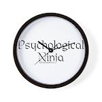 Psychological Ninja Wall Clock
