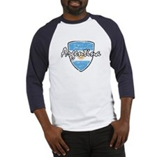 Argentine distressed Flag design Baseball Jersey