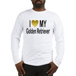 I Love My Golden Retriever Long Sleeve T-Shirt
