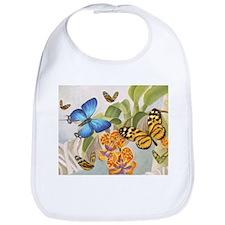 Butterflies Bib