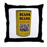 BEANS BEANS Throw Pillow