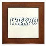Wierdo Framed Tile