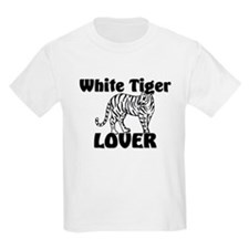 White Tiger Lover T-Shirt