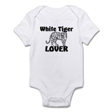 White Tiger Lover Infant Bodysuit