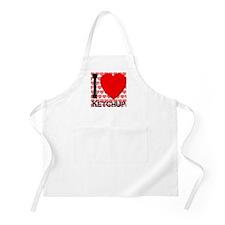 I Love Ketchup 2009 Edition BBQ Apron